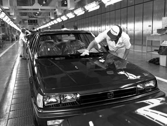 Honda, First International Automaker To Build A Car In America