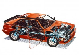 Balance, proportion and engineering innovation defined the four-squared form of the Quattro