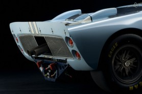 1965 Ford GT40 MK II, blue with white paint