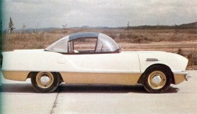 Miniature Americana in this Toyota concept from the fifties