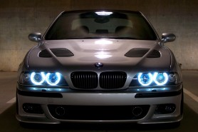 There were Angel eyes but a devilish aspect for the E39 M5