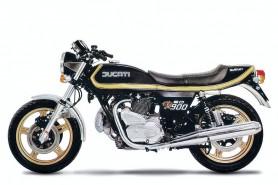 Ducati's 900 Darmah from 1979 - leapt like a leopard...