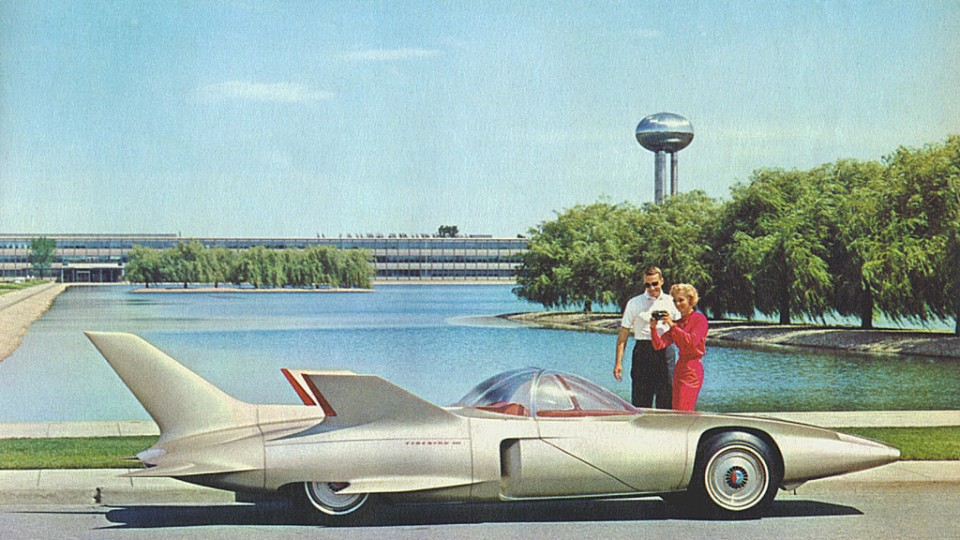 1958's Firebird concepts encapsulated American aspirations...