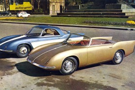 1956 abarth 750 coupe and roadster by bertone