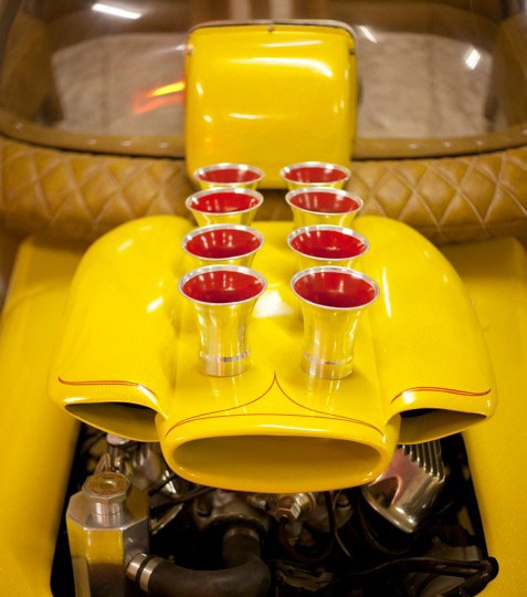 1965 Barris ' Alvins acorn' The very first car built from scratch by George Barris for the Alvin & the Chipmunks tv series owned by Gary Hillman