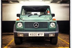 Mercedes G Wagen Spotted at Waitrose car park; of course...