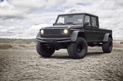 Mercedes G Wagen custom ute incarnate