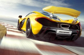 Press images of the P1 hypercar excentuate the aero