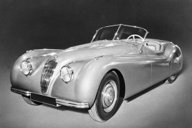 The XK120 had true post war panache.
