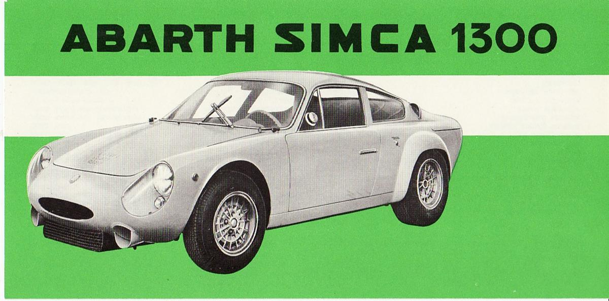 Abarth Simca 1300 Influx