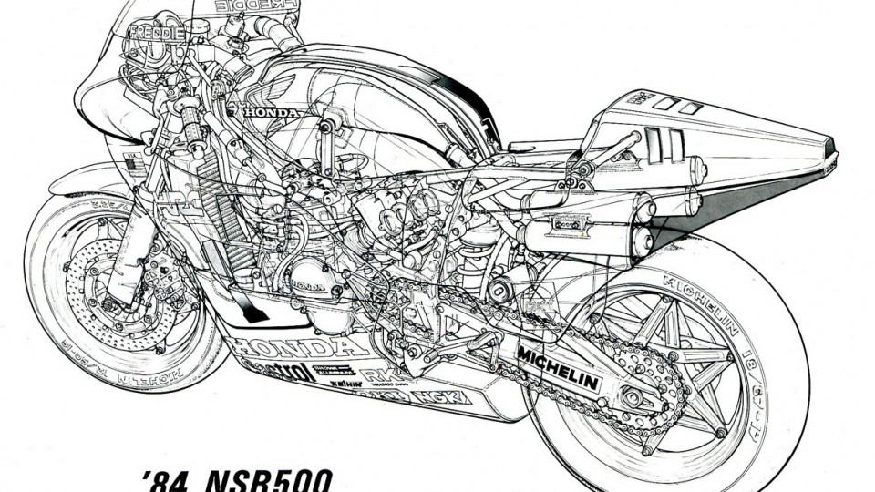 1984  honda nsr 500