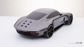 porsche concept rear
