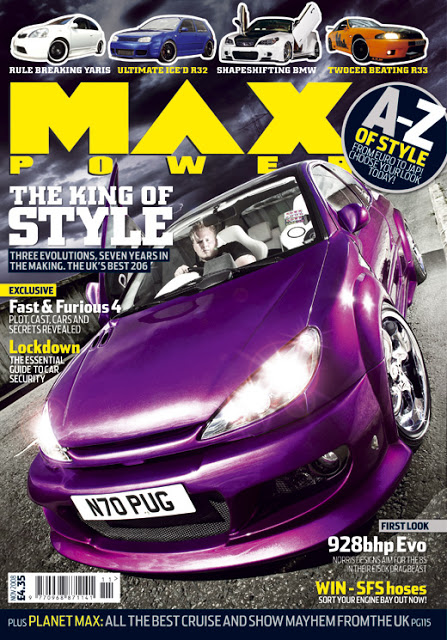 Car Magazine For Womwn Cover
