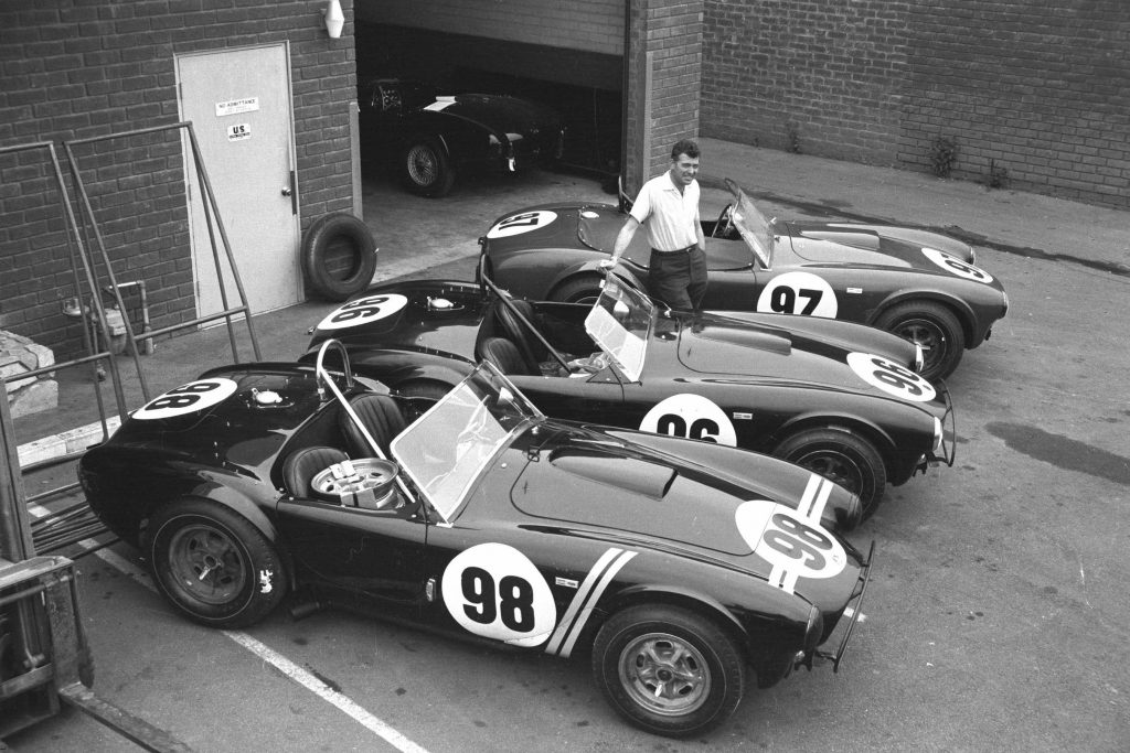 Carroll Shelby and Cobras