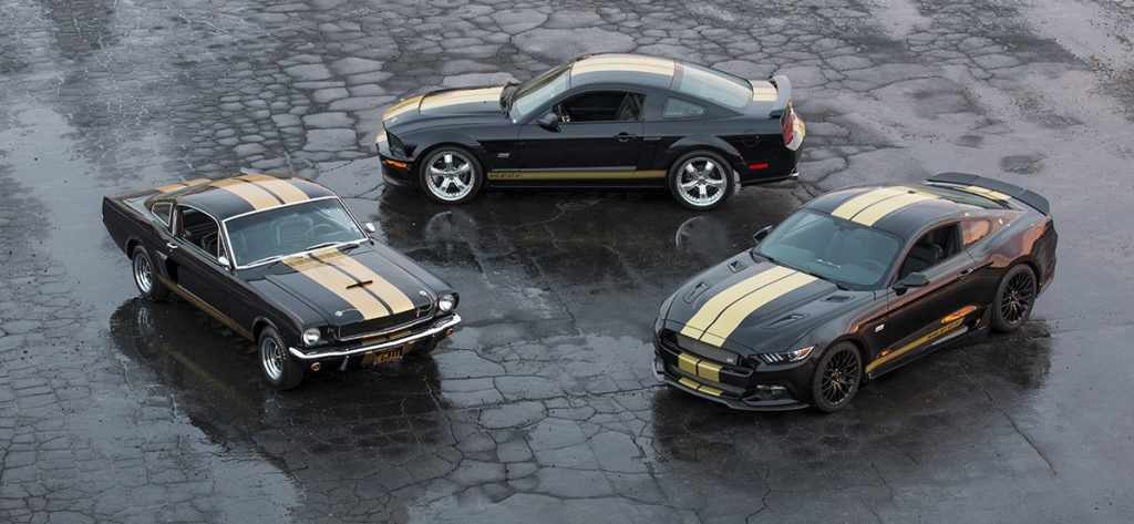 Shelby GT-H Mustangs