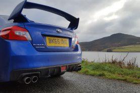 WRX STi rear