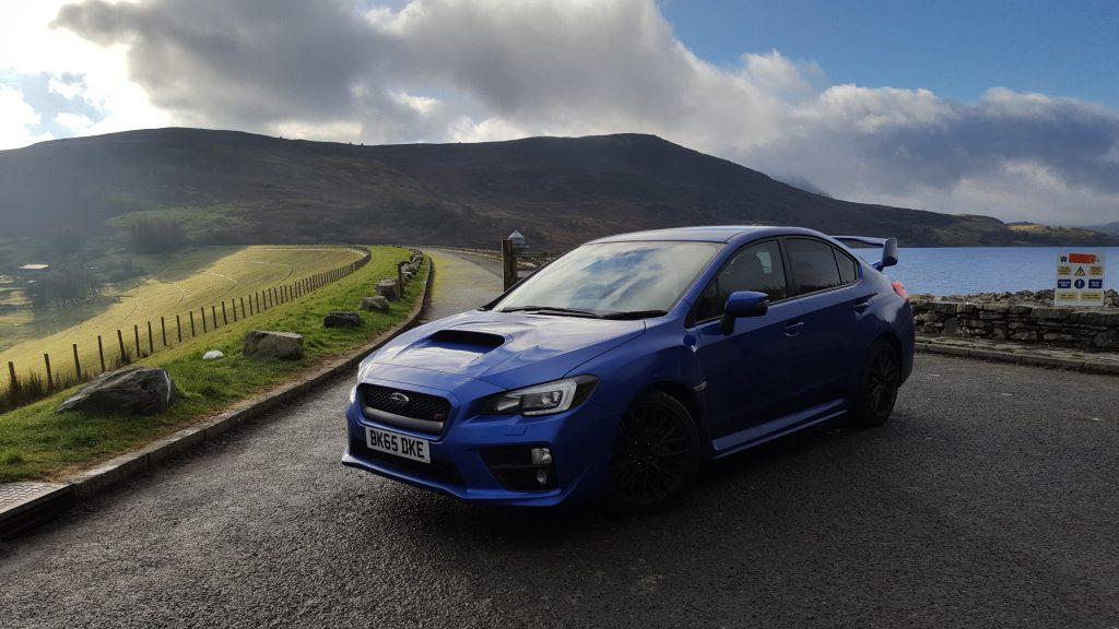Subaru on roads