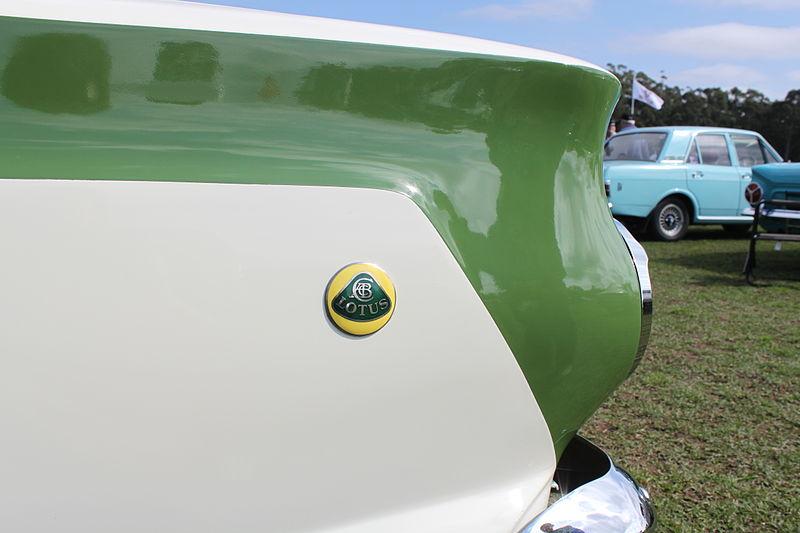 Lotus Cortina flank badge