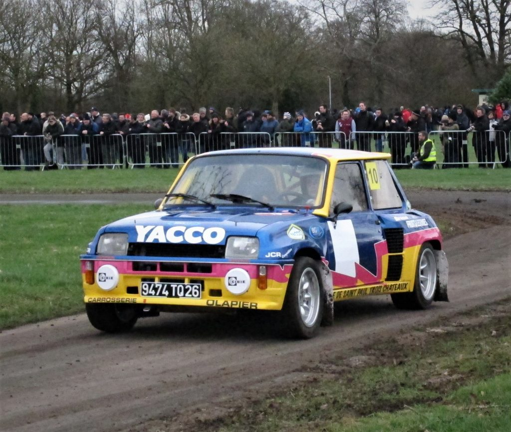 Retro Renault turbo