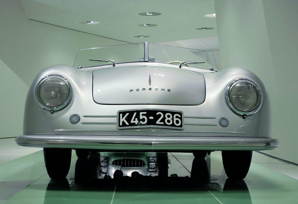 mid-engined Porsche 356