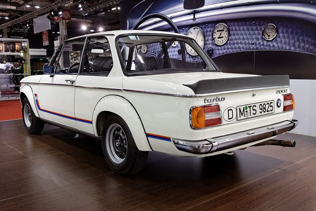 rear BMW 2002 turbo