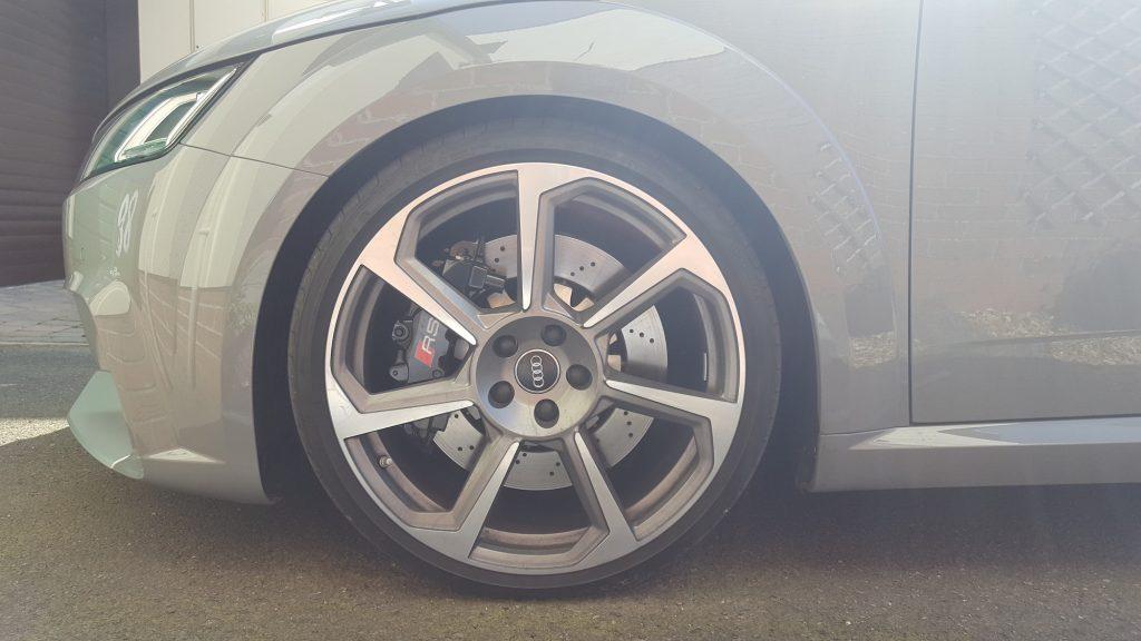 Audi TT RS front wheel