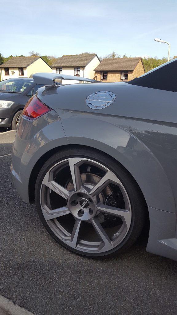 Audi TT rear wheel