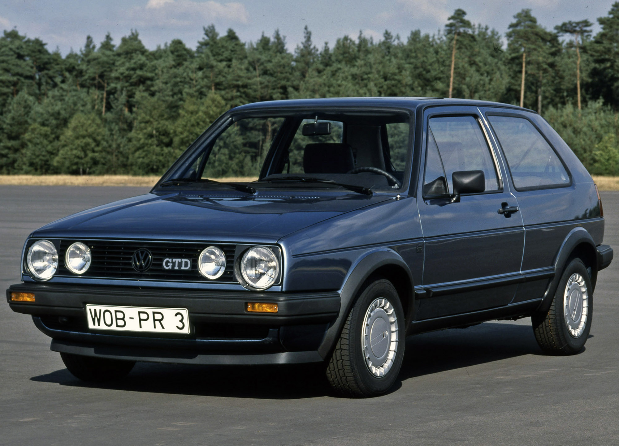 Volkswagen Golf Gtd 35 Years Of Fast And Frugal Fun Influx
