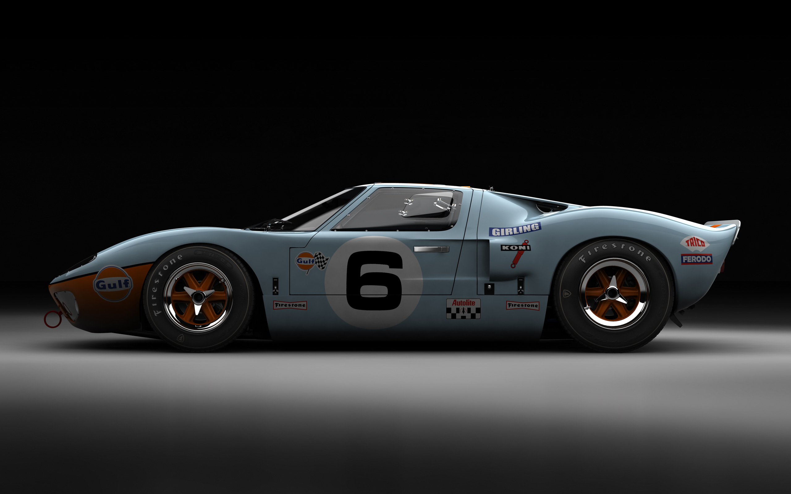 Ford gt40 the beauty influx - Garage volkswagen le mans ...