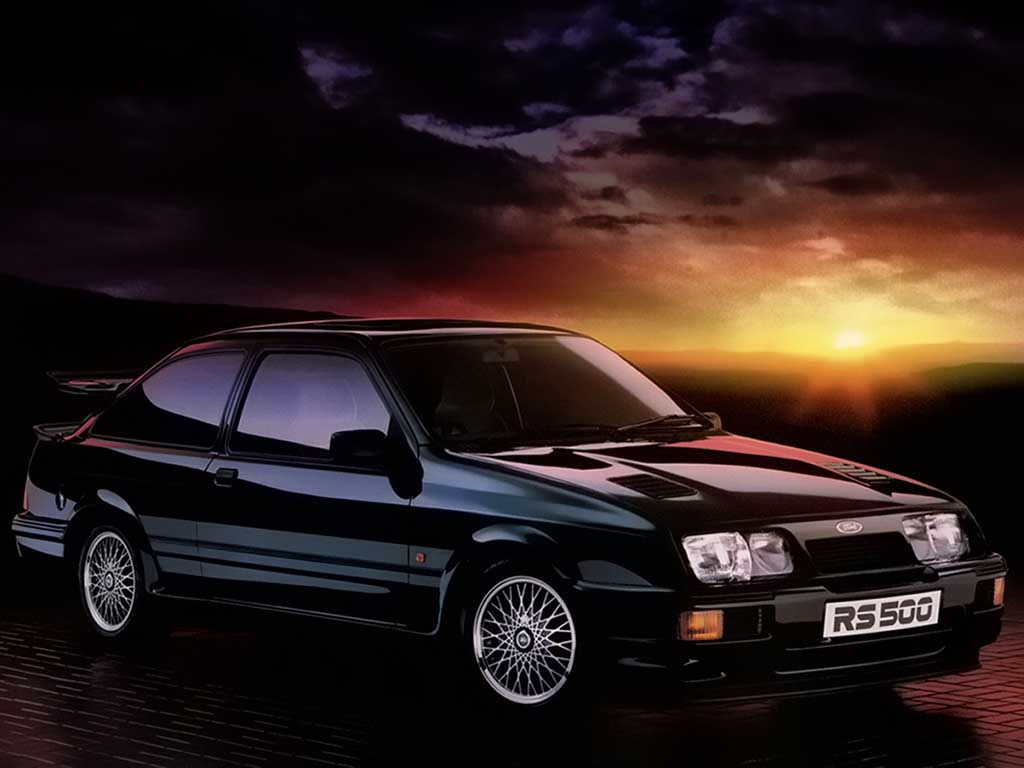 car crush ford sierra cosworth rs500 influx. Black Bedroom Furniture Sets. Home Design Ideas