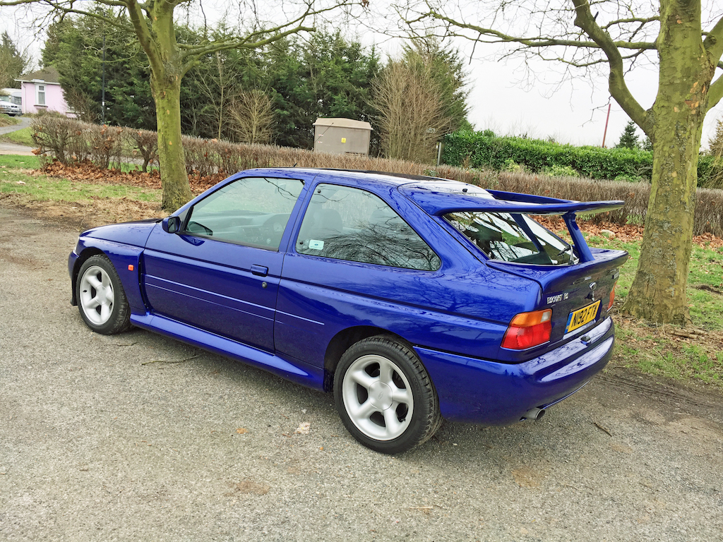 ford escort rs cosworth meeting a childhood hero influx. Black Bedroom Furniture Sets. Home Design Ideas